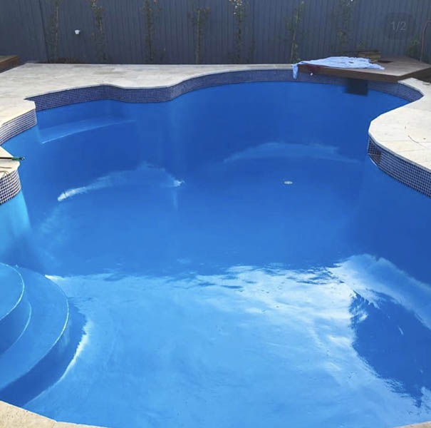 Pool Waterline Tiles Hills District Sydney